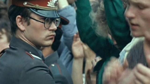 """Kadrs no J. Podnieka filmas """"Vai viegli būt jaunam"""""""